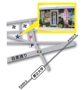 松嶋事務所の地図